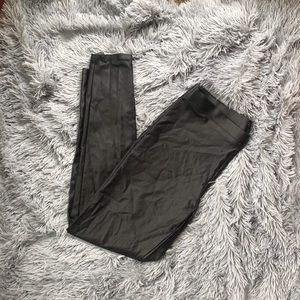 Maurice's faux leather leggings